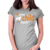 The PERFECT CHILD IS A Australian Shepherd Womens Fitted T-Shirt
