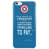 The Price of Freedom Phone Case