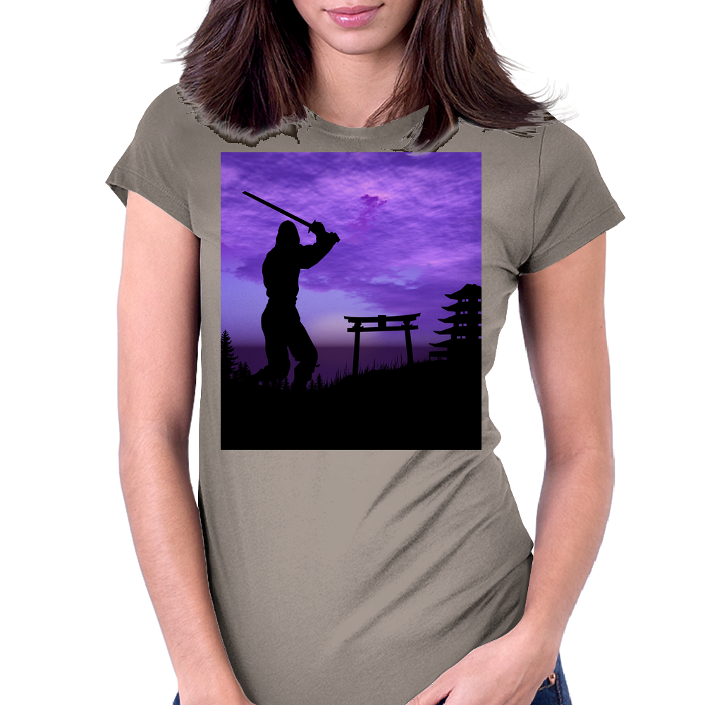 The Protector 2 Womens Fitted T-Shirt