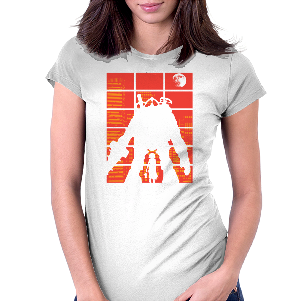 The Protector Womens Fitted T-Shirt