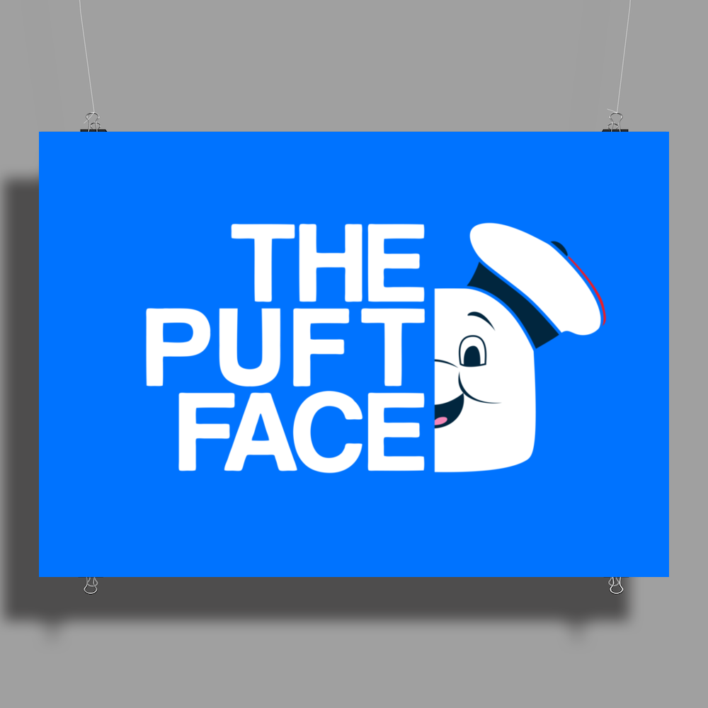 The Puft Face Poster Print (Landscape)