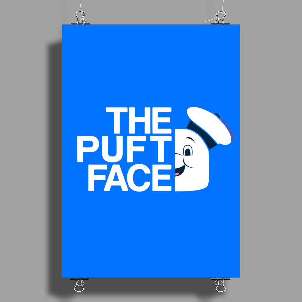 The Puft Face Poster Print (Portrait)