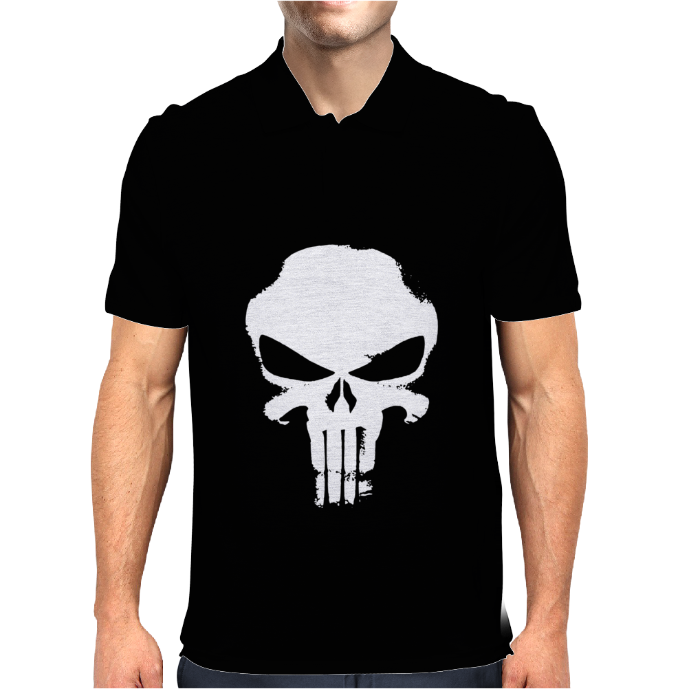 THE PUNISHER EL CASTIGADOR MARVEL Mens Polo