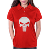 The Punisher Skull Head Womens Polo