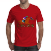 tHE rACEHORSE IN tYPOGRAPHY Mens T-Shirt