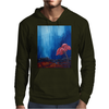 The Red Flower Mens Hoodie