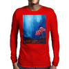 The Red Flower Mens Long Sleeve T-Shirt