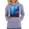 The Red Flower Womens Hoodie