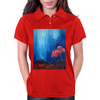 The Red Flower Womens Polo