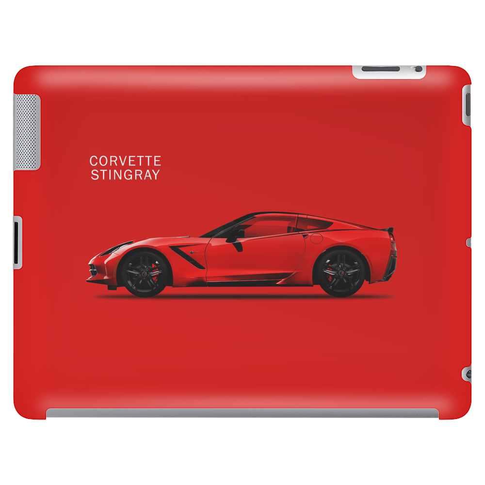 The Red Vette Tablet (horizontal)