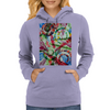 The Repose  of the Circle Fish Womens Hoodie