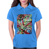 The Repose  of the Circle Fish Womens Polo