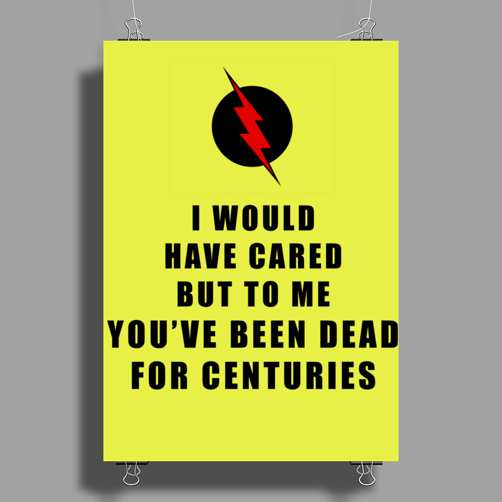 The Reverse Flash Poster Print (Portrait)