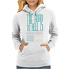 The Road to Hell Womens Hoodie