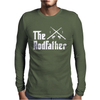 The Rodfather - Mens Funny Fishing Mens Long Sleeve T-Shirt