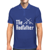 The Rodfather - Mens Funny Fishing Mens Polo
