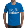 The Rodfather - Mens Funny Fishing Mens T-Shirt