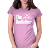 The Rodfather - Mens Funny Fishing Womens Fitted T-Shirt