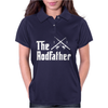 The Rodfather - Mens Funny Fishing Womens Polo