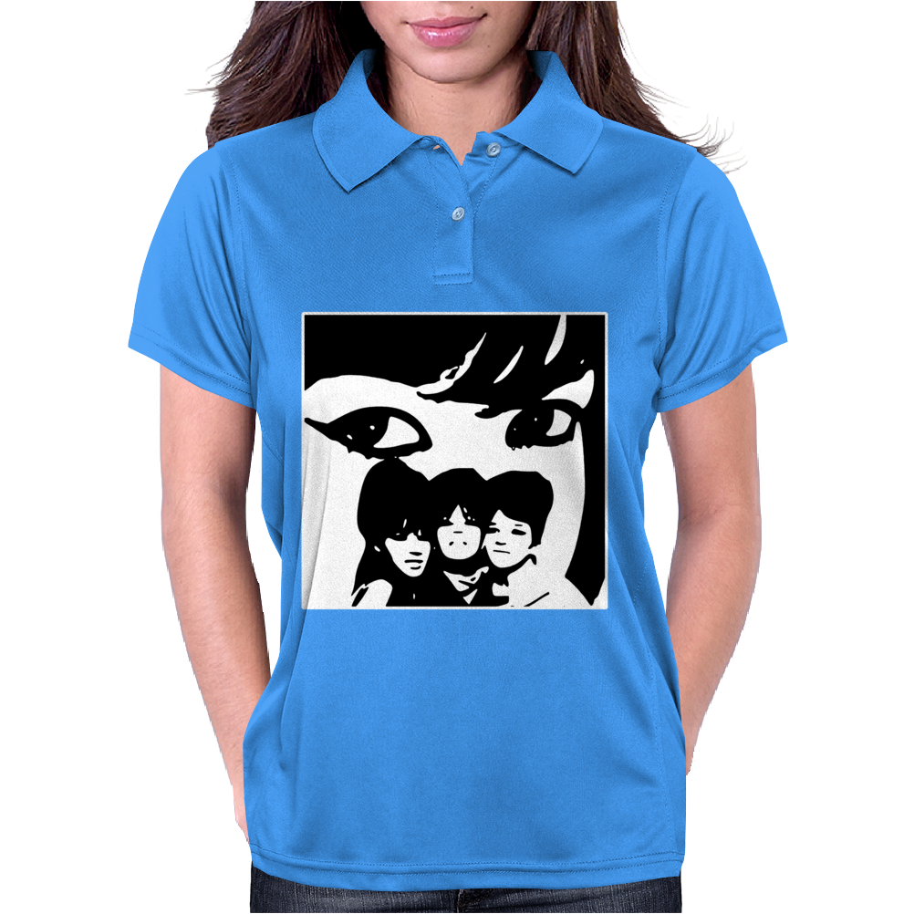 The Ronettes Girl Band Icons Phil Spector Womens Polo
