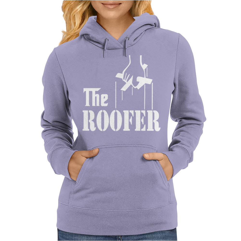 The Roofer Womens Hoodie