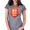The Royal Arms of England Womens Fitted T-Shirt