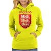 The Royal Arms of England Womens Hoodie