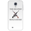 The Second protects our First. Phone Case