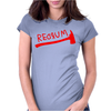 The Shining Inspired Redrum Womens Fitted T-Shirt