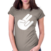 The shocker Womens Fitted T-Shirt