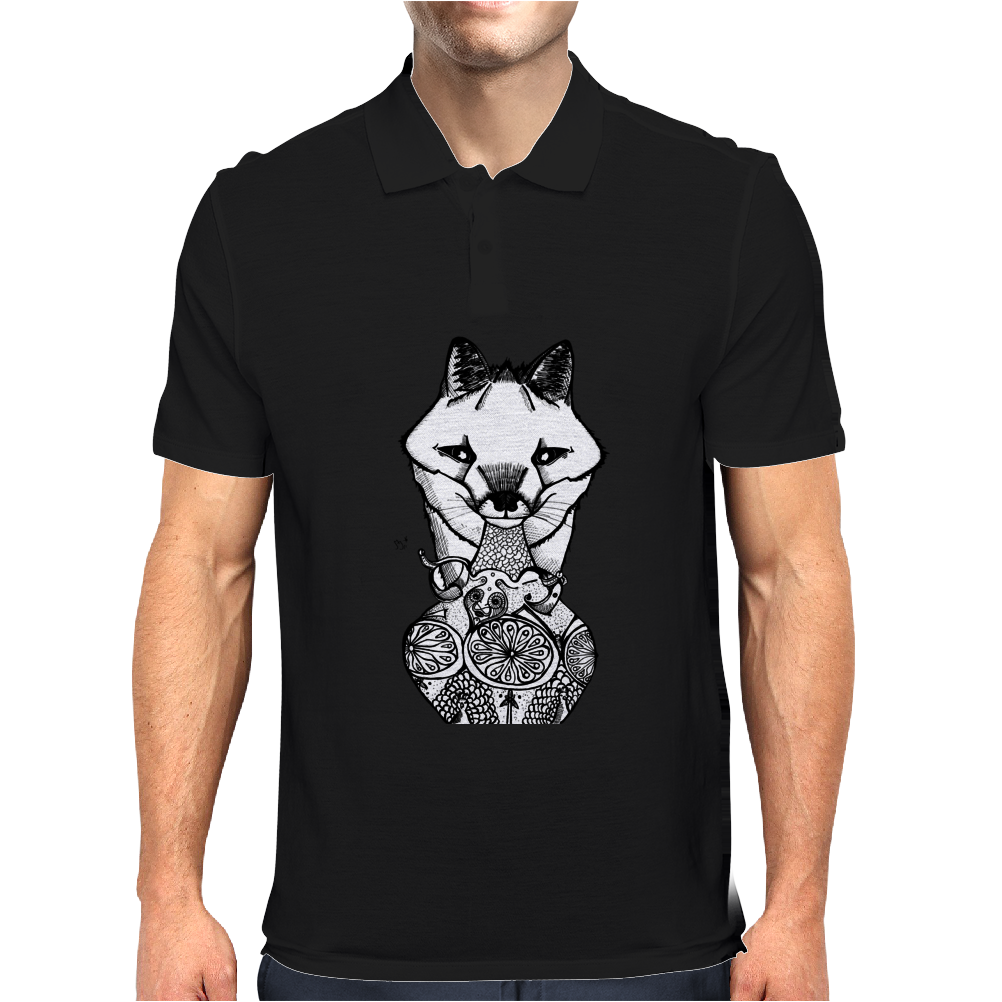 The Silver Fox and The Vase Mens Polo