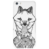 The Silver Fox and The Vase Phone Case