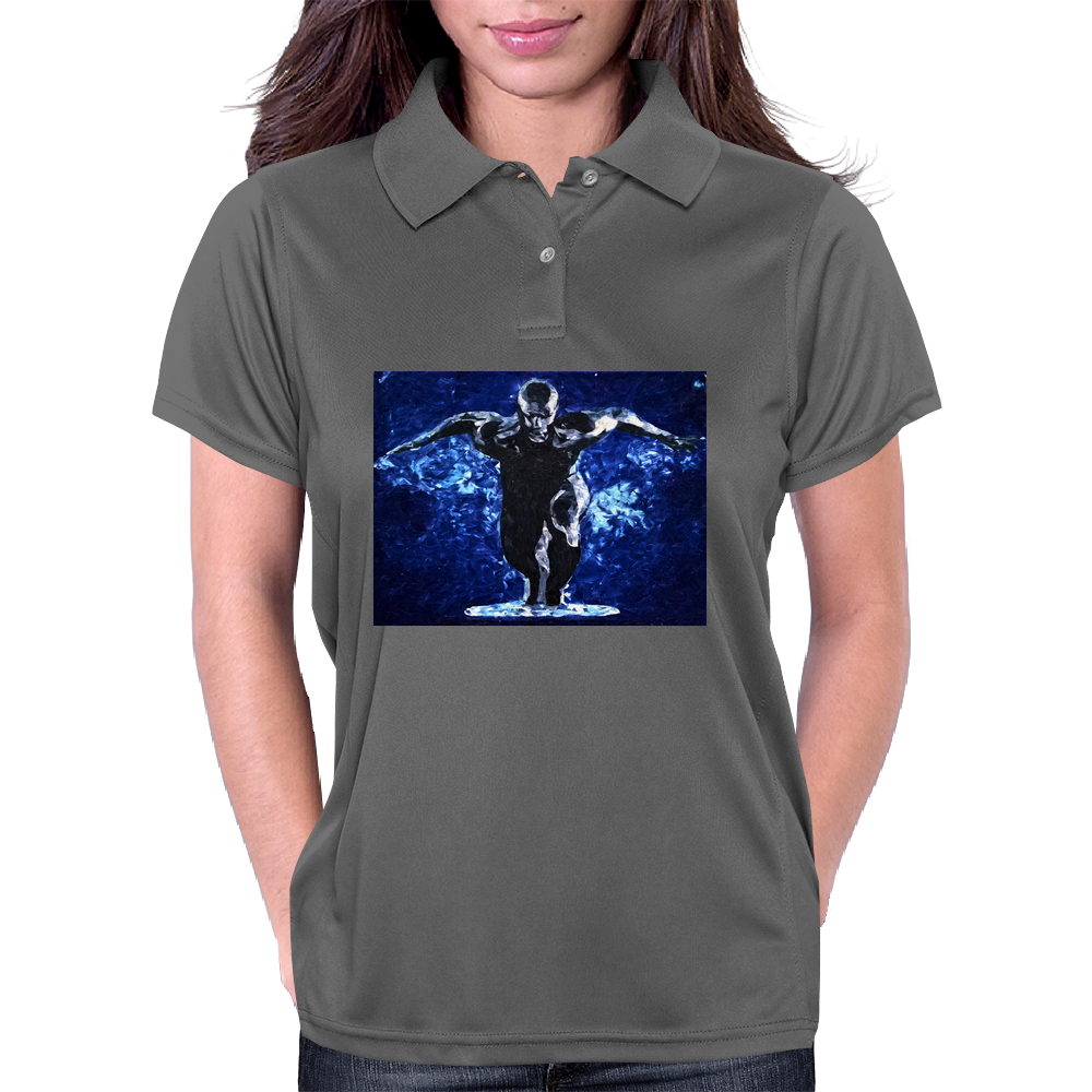 the silver surfer by Dryer Womens Polo