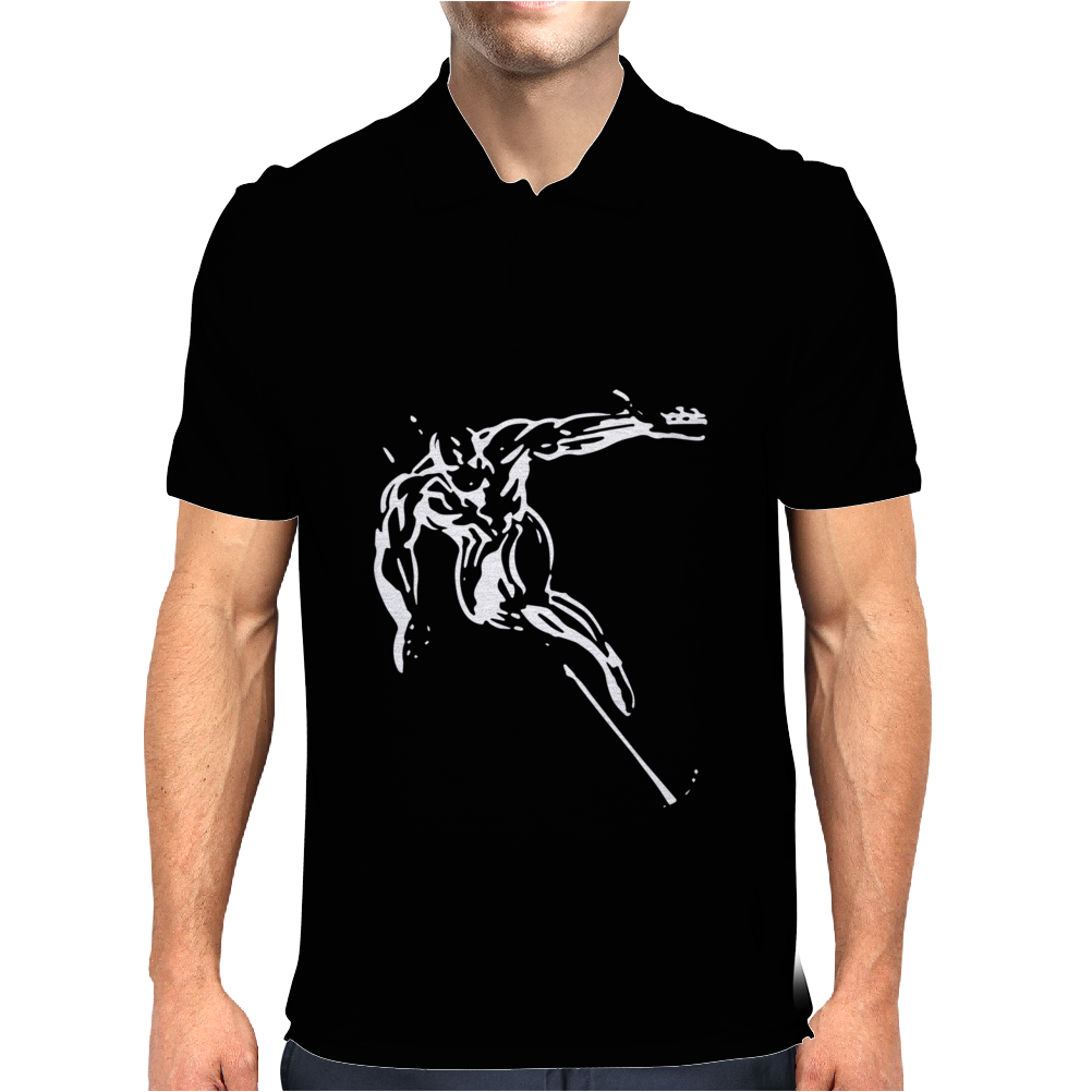 The Silver Surfer Mens Polo