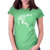 The Silver Surfer Womens Fitted T-Shirt