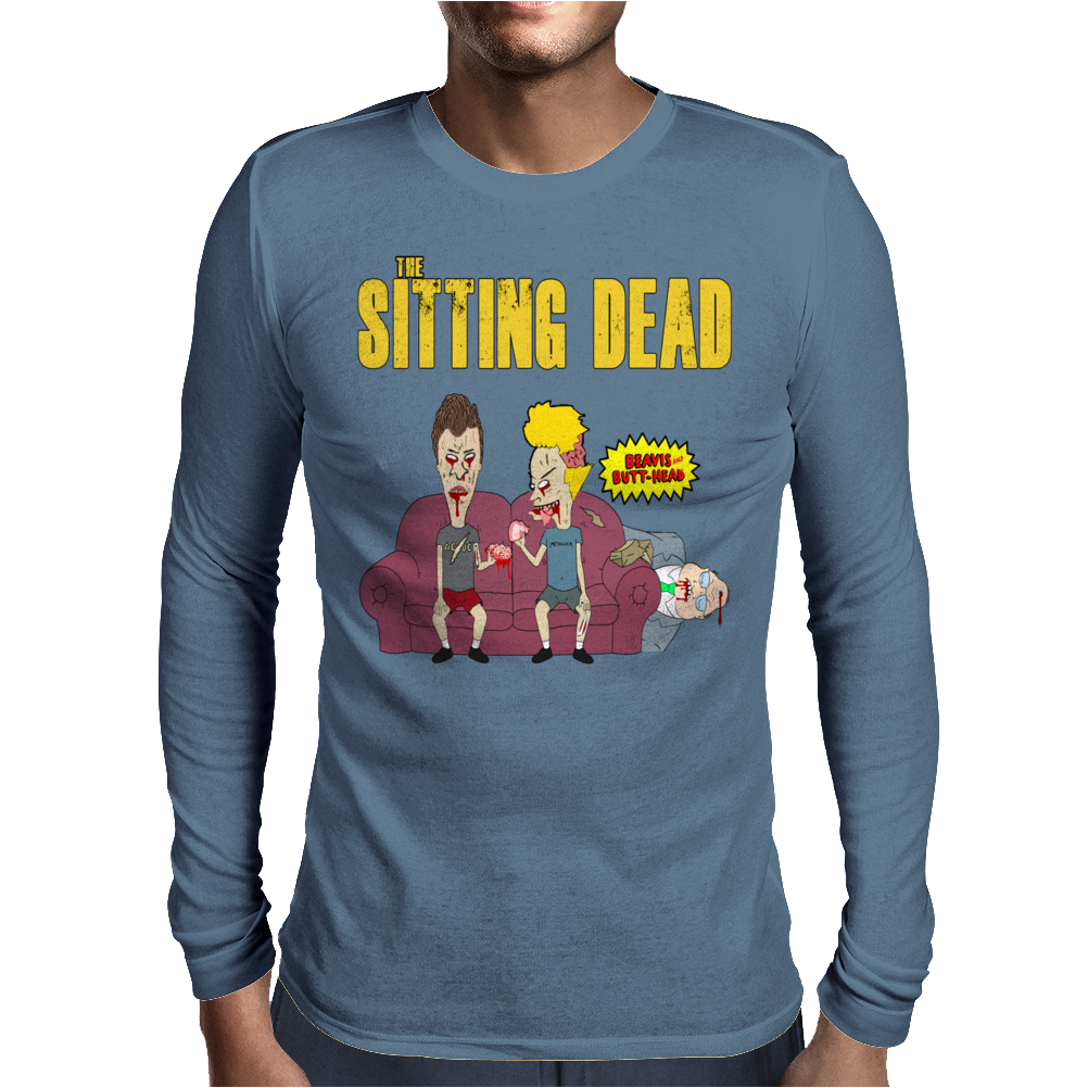 The Sitting Dead (Updated) Mens Long Sleeve T-Shirt