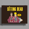 The Sitting Dead (Updated) Poster Print (Landscape)