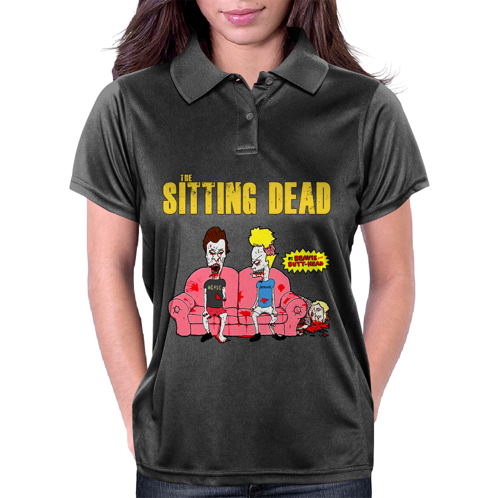 The Sitting Dead Womens Polo