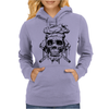 The skull chef Womens Hoodie