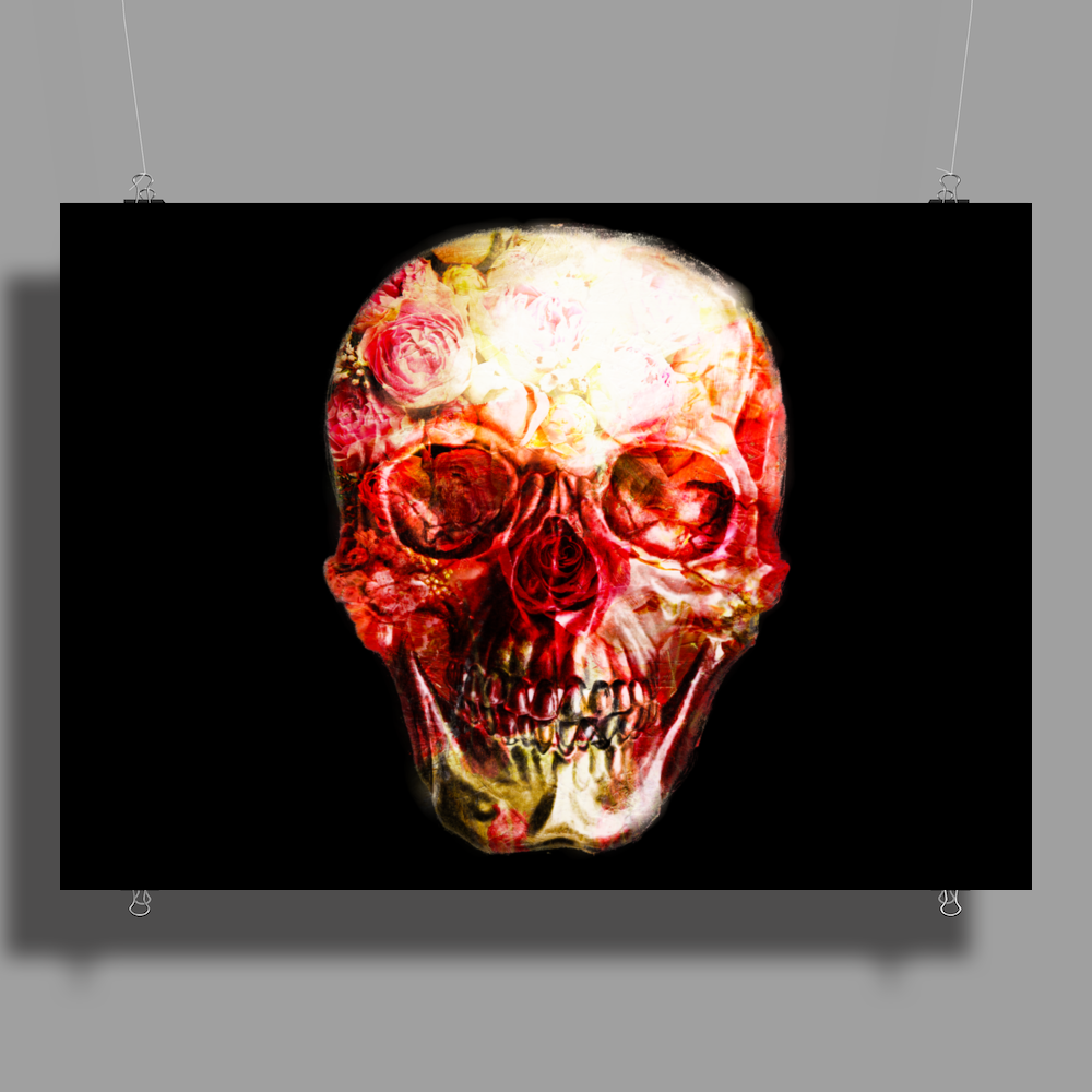 The skull project Poster Print (Landscape)