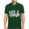 THE SOPRANOS INSPIRED BADA BING STRIP CLUB FUNNY BLACK Mens Polo