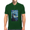 The Starry Night Harry Potter Mens Polo