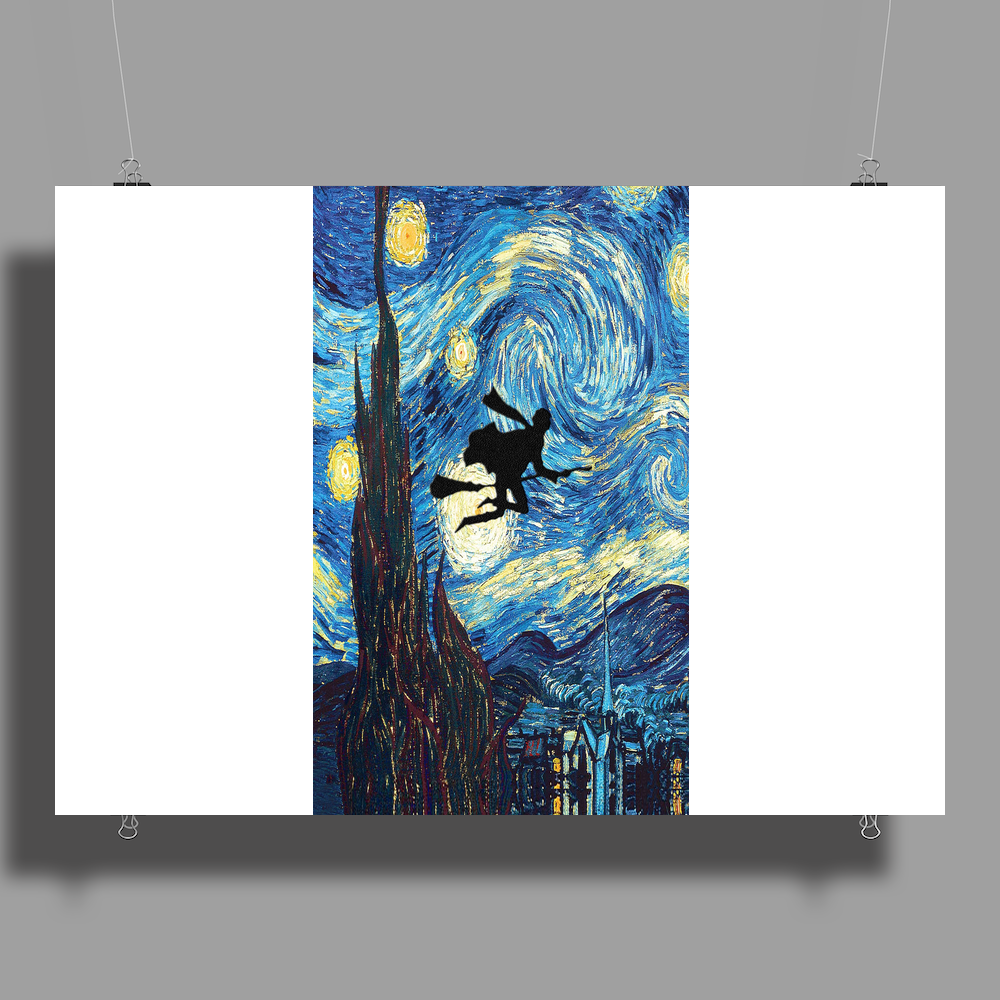 The Starry Night Harry Potter Poster Print (Landscape)