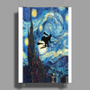 The Starry Night Harry Potter Poster Print (Portrait)