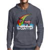The stupid unicorn loses his head Mens Hoodie