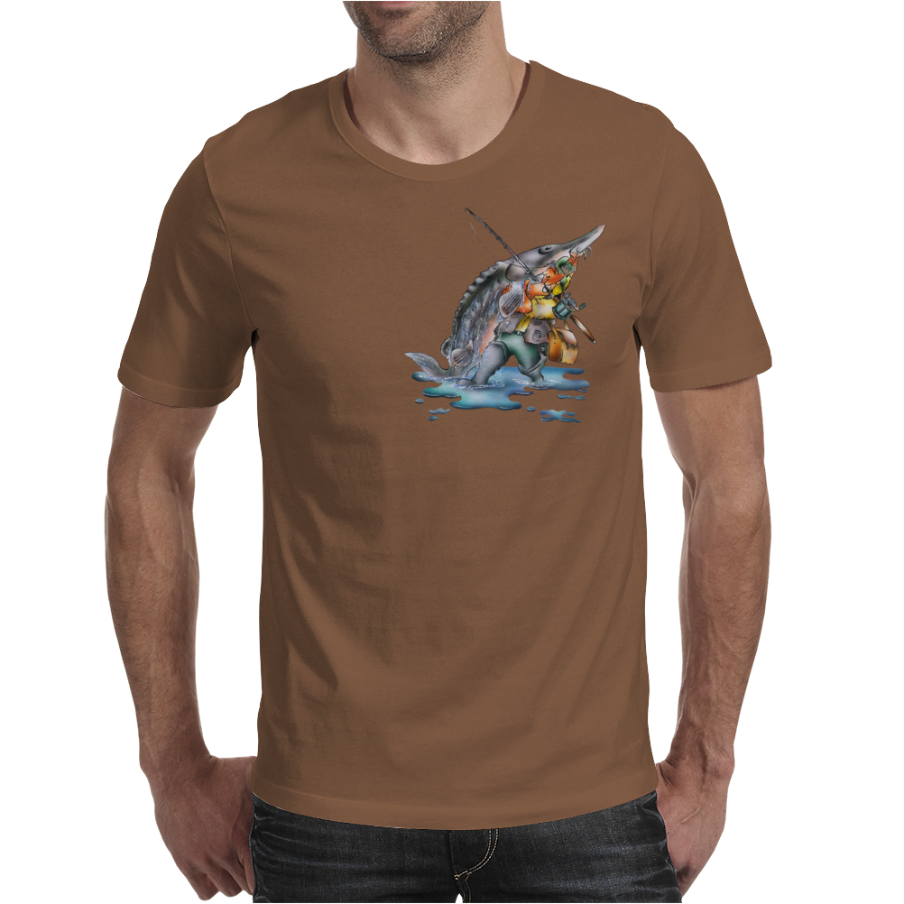 The Sturgeon Angler Mens T-Shirt