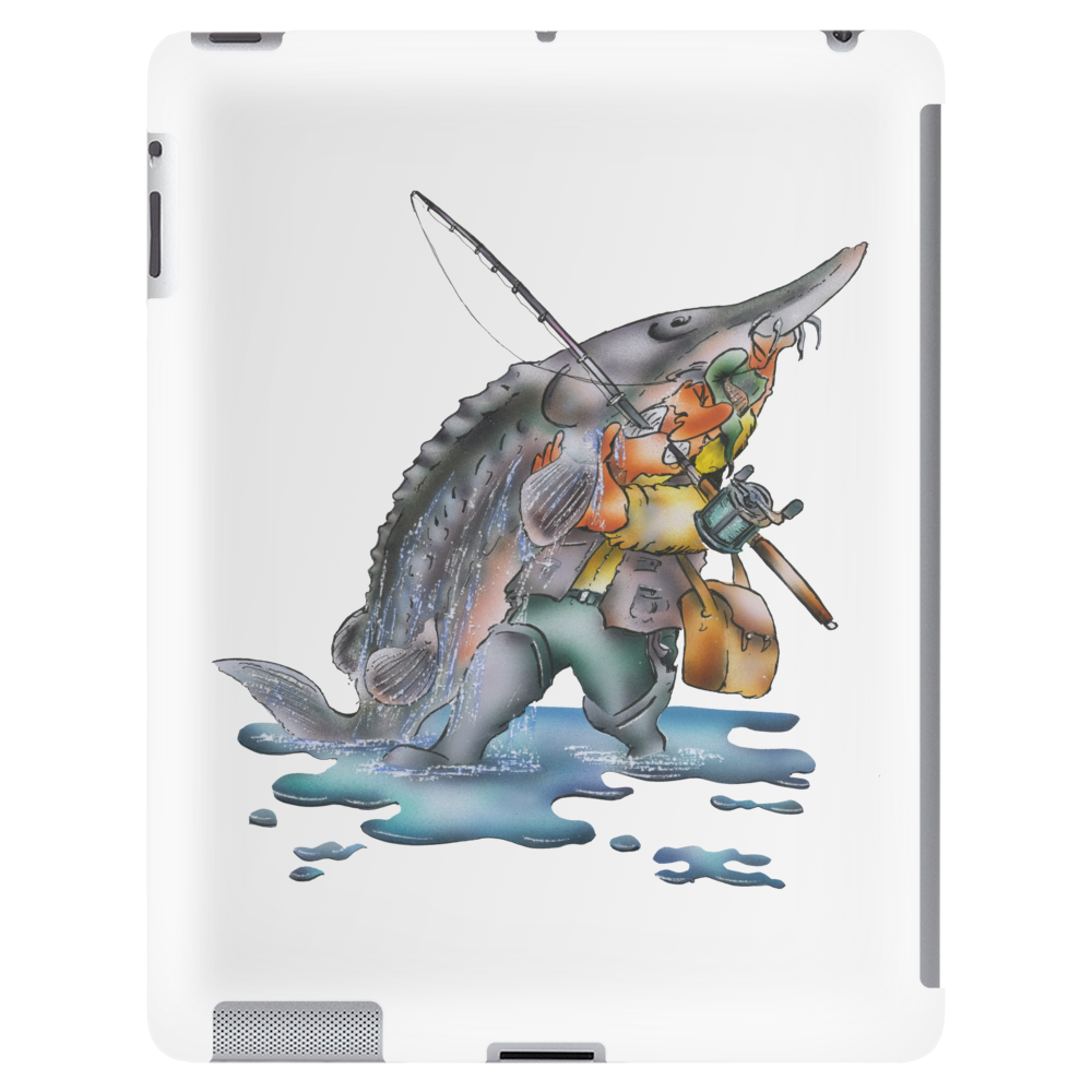 The Sturgeon Angler Tablet (vertical)