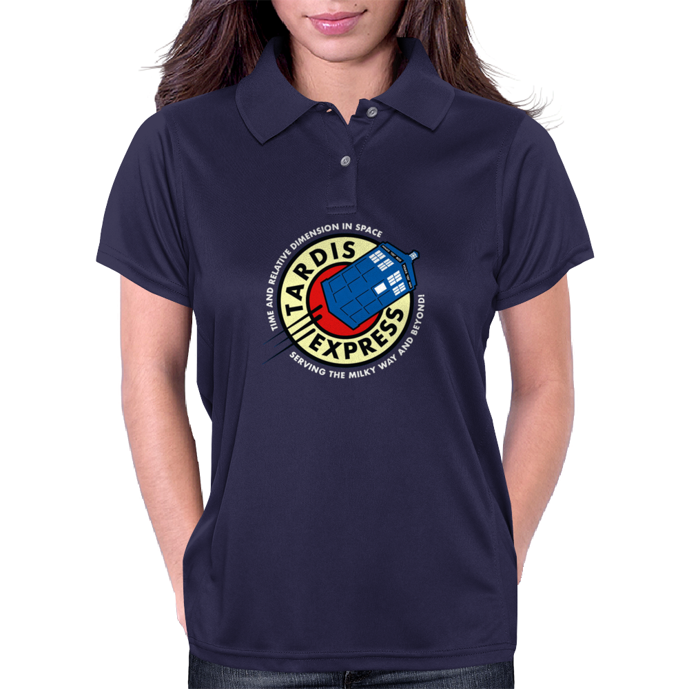 The T.A.R.D.I.S. Express Womens Polo