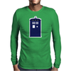 THE TARDIS Mens Long Sleeve T-Shirt