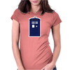 THE TARDIS Womens Fitted T-Shirt